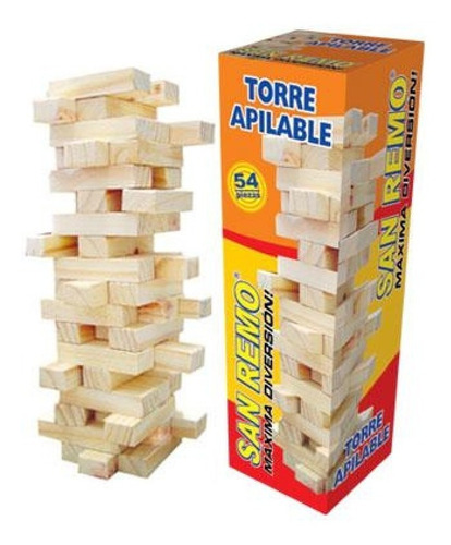 Torre Apilable Madera