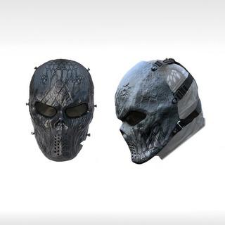 Mascara Mask Careta Malla Militar Gotcha Paintball Airsoft