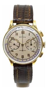 Reloj Movado Cronógrafo Oro 18k Vintage Cuotas