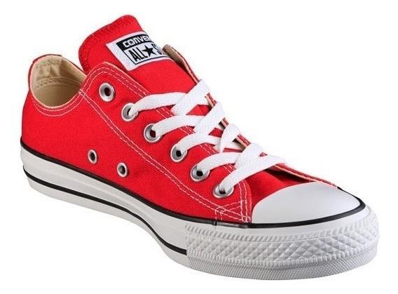 Tenis Converse All Star Chuck T M9696 Rojo Caballero Dama