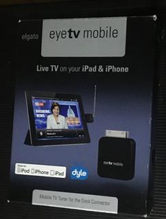 Elgato Eye Tv Mobile Sintonizador Tv Digital Para iPhone