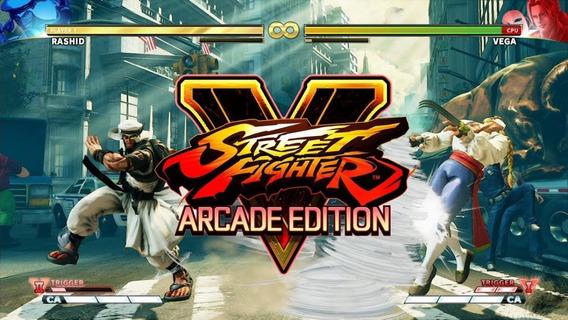 Jogo Street Fighter V: Arcade Edition Br - Ps4