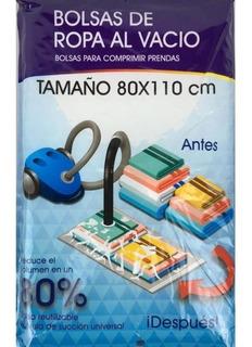 Bolsa Guarda Ropa Compresion Vacio Hermetica 80x110 Cm
