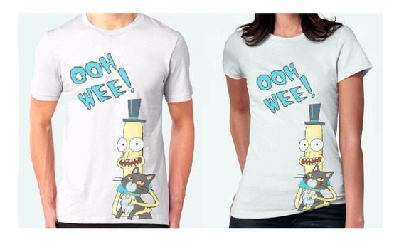 Rick And Morty Playera Ooh Wee Pantalones Butthole