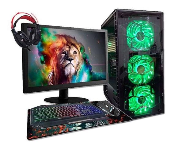Computador Gamer Bravus I7 Gtx1650 16gb Hd1tb Black Friday