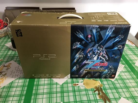 Ps2 Gundam Edição Limitada - Completo - A