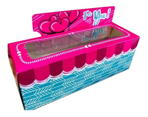 Media Docena Cajas Decorativas 3 Cupcakes Modelo For You