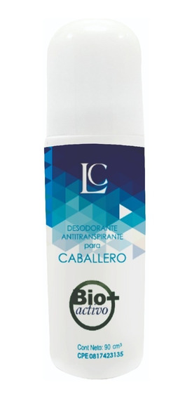 Bio Activo Caballero Control Sudor Lior 90g.