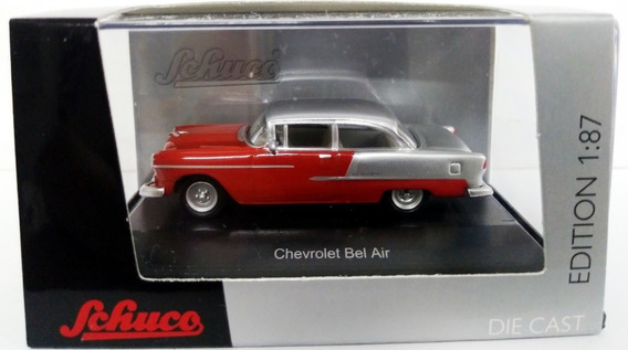 Chevrolet Bel Air Red/silver - Escala 1/87 H0 Schuco