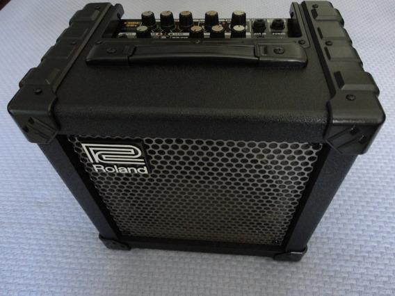 Amplificador Roland Cube 20x(20w Rms) Com Efeitos E Afinador