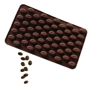 20 Moldes Para 55 Granos De Café Cubiertos De Chocolate C/u