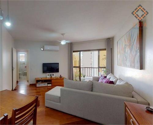 Imagem 1 de 21 de Apartamento Para Compra Com 2 Quartos E 1 Vaga Localizado Na Vila Romana - Ap54580