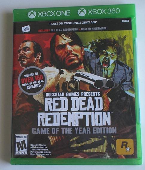Red Dead Redemption + Undead Nightmar Xbox 360 Novo Lacrado
