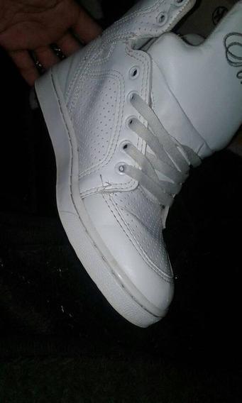 Zapatillas Tipo Botitas Krial (brossurban) (blanco)