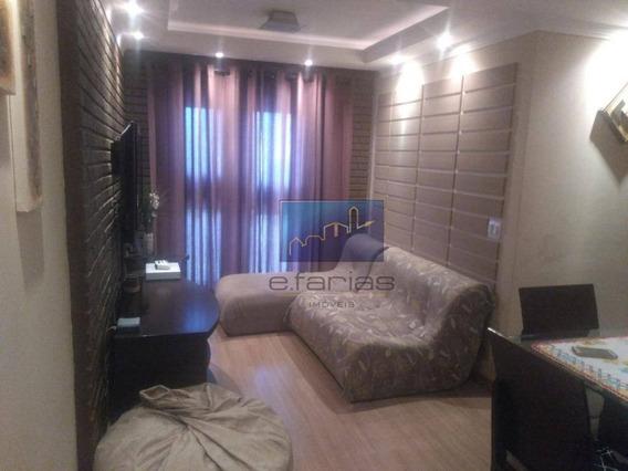 Apartamento Com 3 Dormitórios Para Alugar, 68 M² Por R$ 1.450/mês - Cidade Patriarca - São Paulo/sp - Ap0322