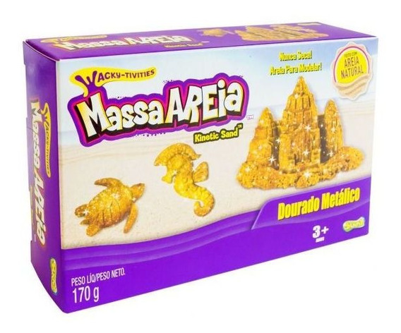 Massa Areia 1805 170g Sunny - Dourado