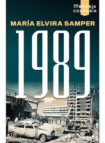 Libro 1989 Autor  María Elvira Samper Original Nuevo