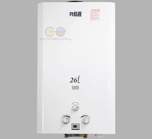 Rca Calefón 26 Litros Dispositivo De Seguridad 3 Llaves