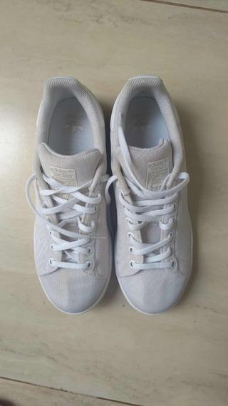 Tênis adidas Stan Smith Glitter Branco 36 - Usado 2x