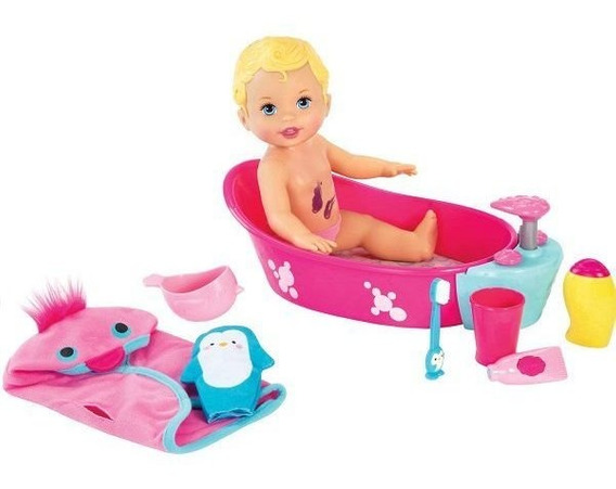 Little Mommy Brincadeira Na Banheira Mattel Dtg64