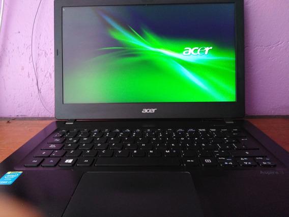 Portátil Acer Aspire V3 371, I7 5500, Ram 8gb, Sdd + Hdd