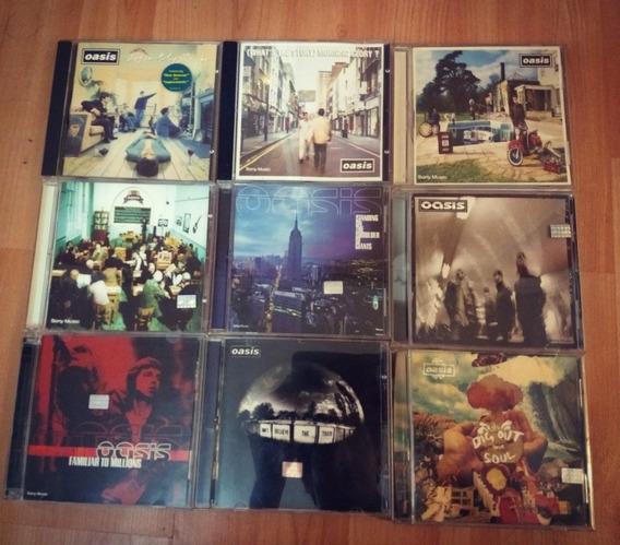 Oasis Discografía Completa 10 Cd Como Nuevo
