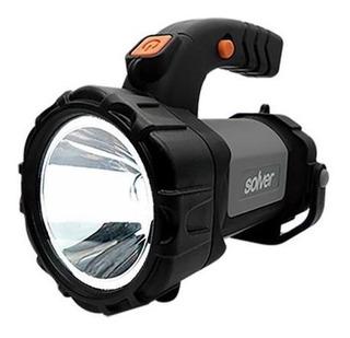 Lanterna Holofote Pro Led Cree Slp-401 Recarregável - Solver