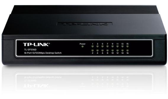 Switch Tp-link 16 Tl-sf1016d 16 Puertos 10/100mbps