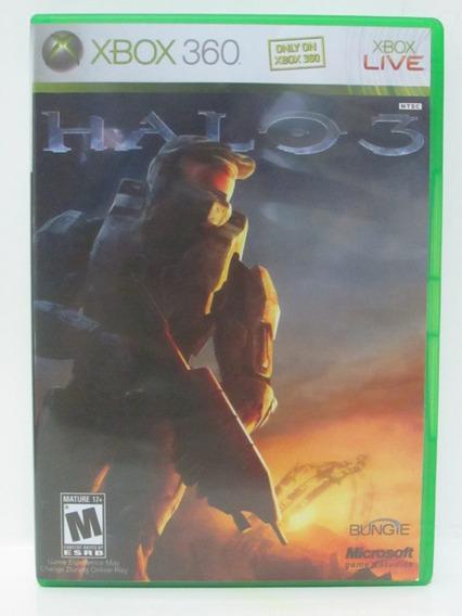 Halo 3 - Game Xbox 360 Original Americano Mídia Física