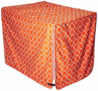Molly Mutt Crate Cover, Multicolor/fantasía (the Boxer), L
