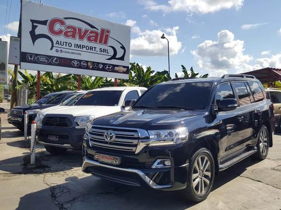 Toyota Land Cruiser Vxr V8 Negra 2016