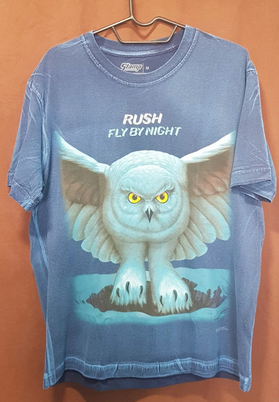 Rush - Camisa Especial Fly By Night