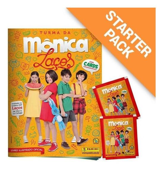 Starter Pack Turma Da Mônica Laços - Livro Ilustrado + 12 En