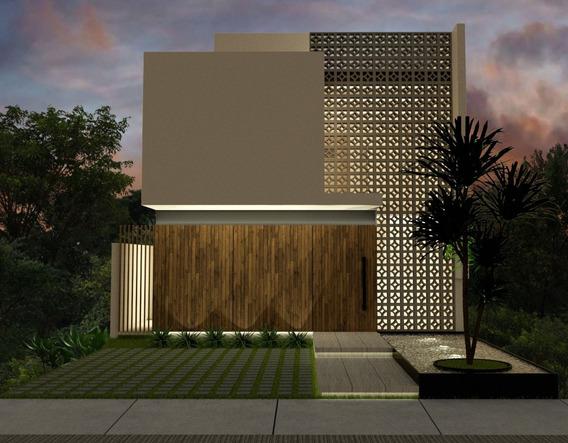 Casa En Preventa En Playa Del Carmen Residencial El Encuen