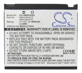 Batería C.s. P/ Samsung Sgh-d830, Sgh-d836, Sgh-u600, 900mah