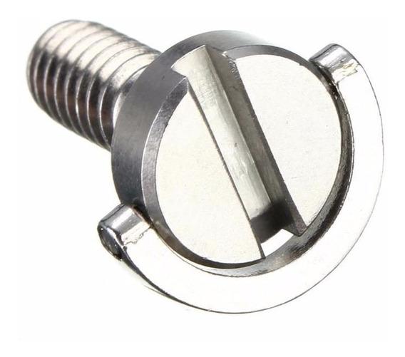 Parafuso 1/4 Aço Sapata De Tripé E Acessórios - Extenso 21mm