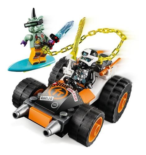 Lego Ninjago Deportivo Sísmico De Cole 71706 (52 Piezas)