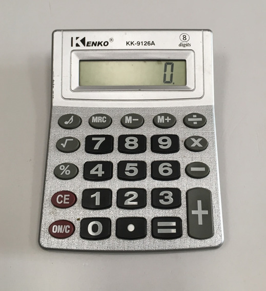Calculadora Electrónica Kenko Mod. Kk-9126a 8 Dígitos