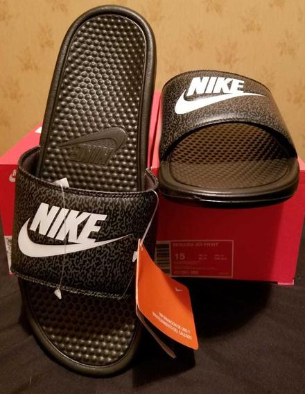 Ojotas Nike Benassi Jdi Print 47 Arg 14 Us Traidas De Usa