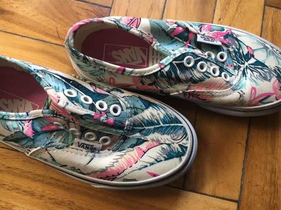 Zapatillas Vans Modelo Sin Cordón (se Le Puede Poner)