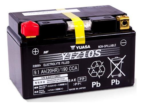 Batería De Moto Yuasa Ytz10s, Delivery.