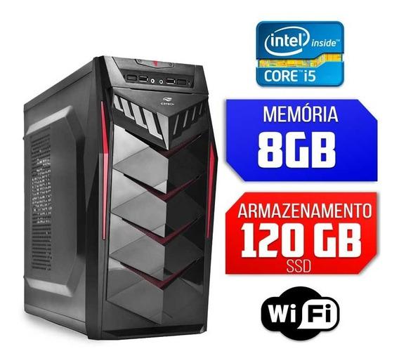 Computador Intel Core I5, 8gb Ram, Ssd 120gb