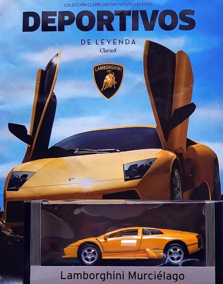 Deportivos De Leyenda Clarin N° 1 Lamborghini Murciélago