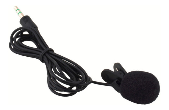 Kit De 10 Peças / Microfone De Lapela 3.5mm 30 Hz-15000 Hz