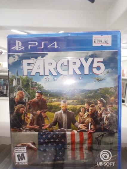 Game Playstation 4 Far Cry 5
