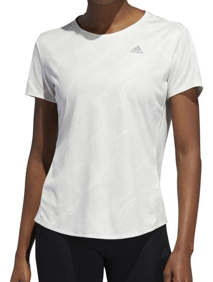 Remera adidas Running Own The Run Mujer Cr/gr