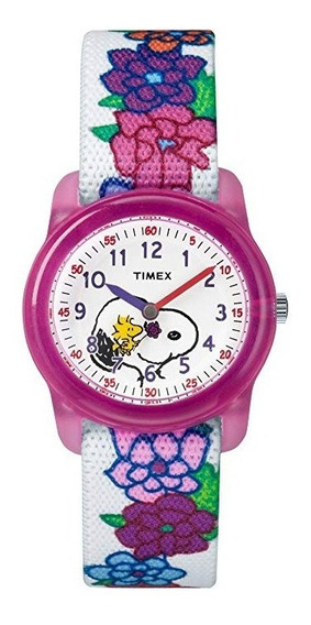 Timex Girls Tw2r41700 Máquinas De Tiempo Peanuts Collection