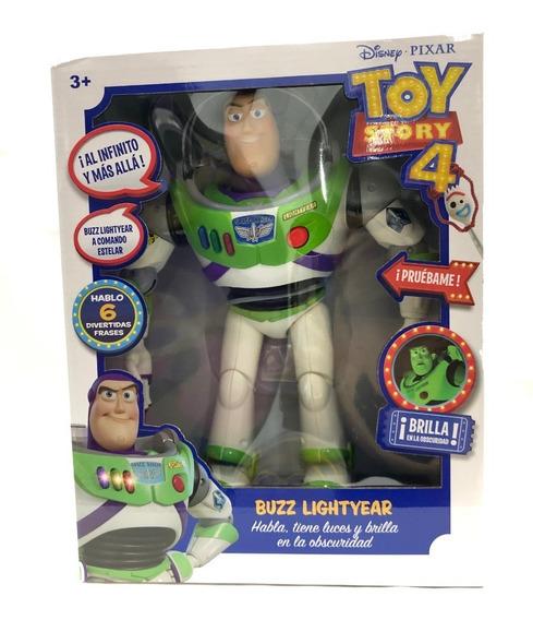 Buzz Toy Story Parlante Sonidos Brilla 30cm Mayoreo Full