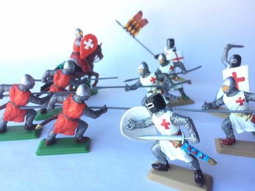 Caballeros Medievales Set Especial 1 Calidad Premium