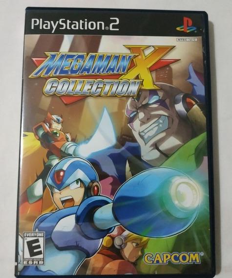Megaman X Collection Playstation 2 Ps2 Original Semi-novo